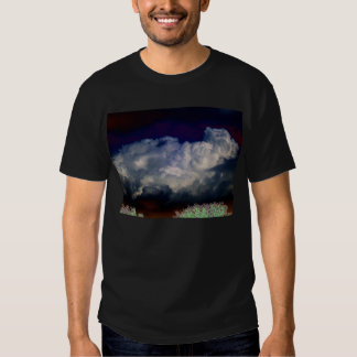 Surreal Luminous Cumulus and Bright Treetops by KL T-shirt