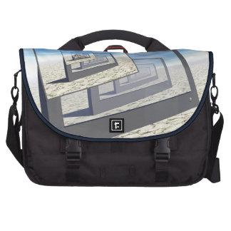 Surreal Monitors Infinite Loop Laptop Commuter Bag