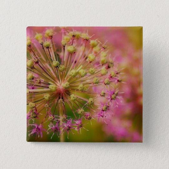 Surreal Pink 15 Cm Square Badge