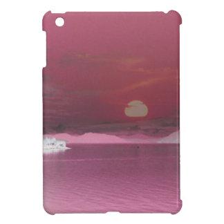 Surreal Pink Fantasy World Ocean Sunset iPad Mini Cover