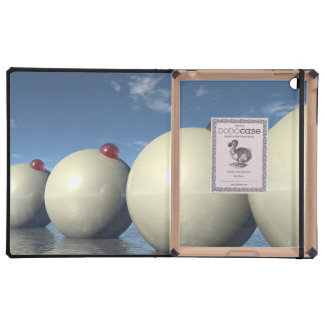 Surreal Spheres Structure iPad Covers