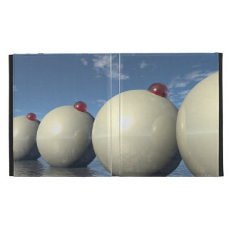 Surreal Spheres Structure iPad Folio Covers