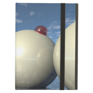 Surreal Spheres Structure iPad Folio Cases