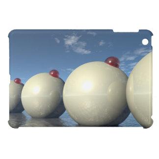 Surreal Spheres Structure iPad Mini Cases