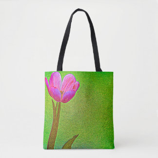 Surreal Tulip Tote