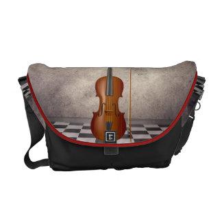 Surreal Violin   Rickshaw Messeng Messenger Bag