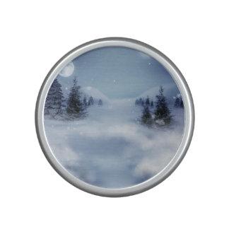 Surreal Winter Bluetooth Speaker