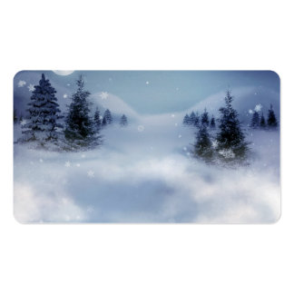 Surreal Winter Pack Of Standard Business Cards