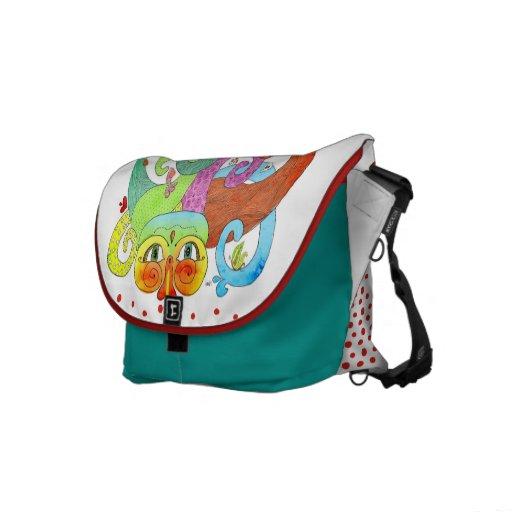 Surreal World Commuter Bag