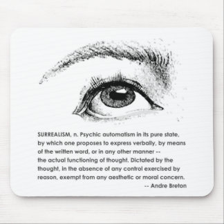 Surrealism Defined Mouse Mat