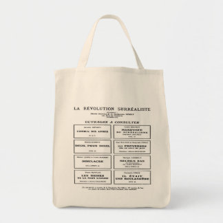 SURREALISM (LA REVOLUTION SURREALISTE) Tote Bag
