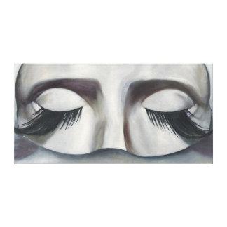 Surrealistic Carnival Mask Contemporary Wall Art