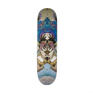Surrealistic Venetian mask of the Brighella. 18.1 Cm Old School Skateboard Deck