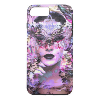 Surrealistic Woman with Mask iPhone 7 Plus Case