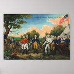 Surrender of Burgoyne Print