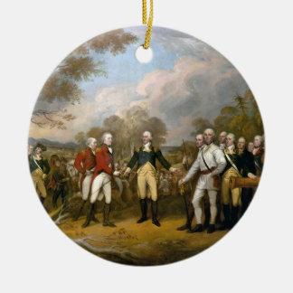 Surrender of General Burgoyne - 1822 Christmas Ornament