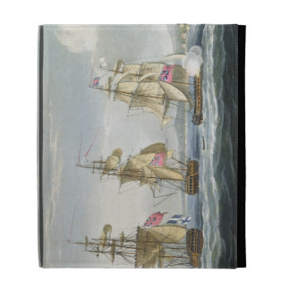 Surrender of the fort of Tamatave, engraved by T. iPad Case