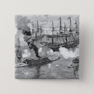 Surrender of the 'Tennessee', Battle of Mobile 15 Cm Square Badge