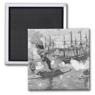 Surrender of the 'Tennessee', Battle of Mobile Square Magnet