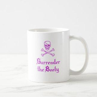 Surrender the Booty Basic White Mug