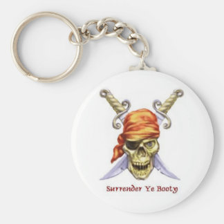 surrender ye booty key ring