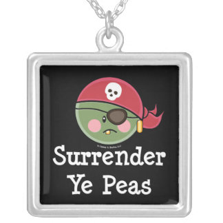 Surrender Ye Peas Necklace