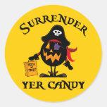 Surrender Yer Candy Sticker