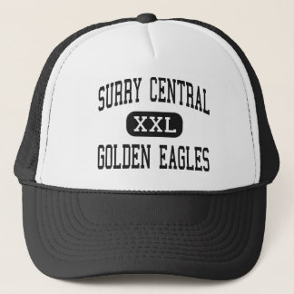 Surry Central - Golden Eagles - High - Dobson Trucker Hat