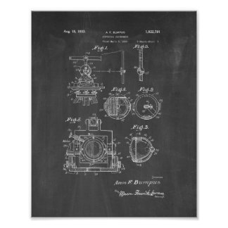 Surveying Instrument Patent - Chalkboard Poster
