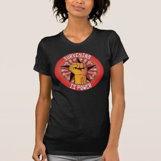 Surveying Is Power T-Shirt