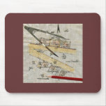 Surveying - Vintage Mouse Pad