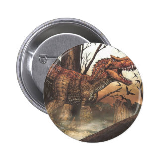 Survival for the fittest.jpg 6 cm round badge
