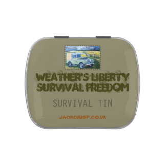 SURVIVAL TIN CANDY TINS
