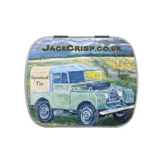 Survival Tin Jelly Belly Candy Tins