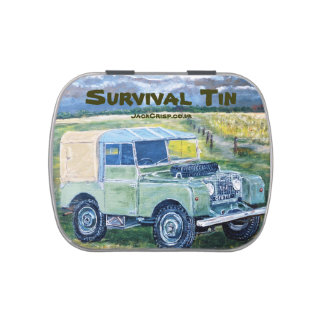 SURVIVAL TIN JELLY BELLY TIN