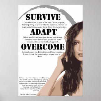 Survive Adapt Overcome Poster