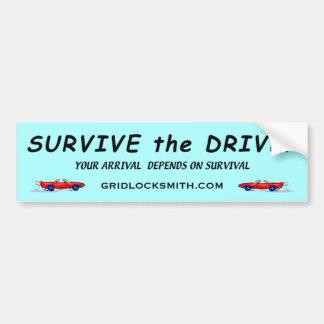 SURVIVE-DRIVE-YADOS BUMPER STICKER