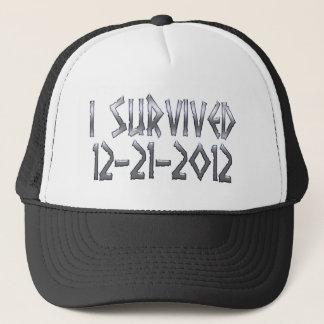 Survived 2012 trucker hat