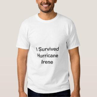 survived hurricane irene tee shirts