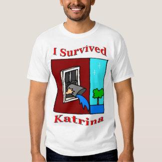 Survived Katrina Tee Shirts