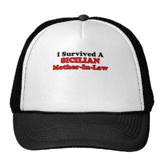 Survived Sicilian Mother In Law Cap