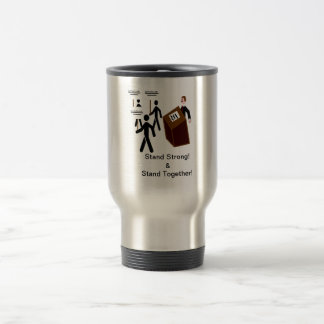 Survived to Vote Stainless Steel Travel Mug