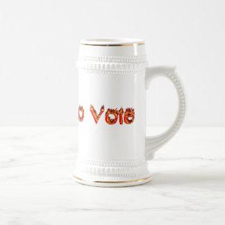 Survived to Vote Stein Mug