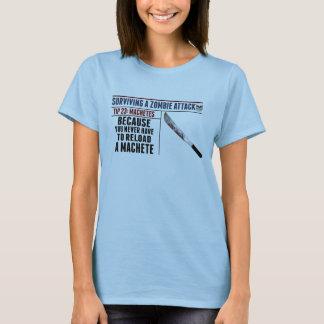 SURVIVING A ZOMBIE ATTACK; MACHETES T-Shirt
