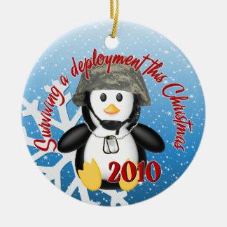 Surviving Deployment 2010 Penguin Ornament
