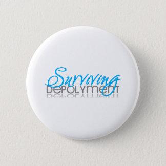Surviving Deployment 6 Cm Round Badge