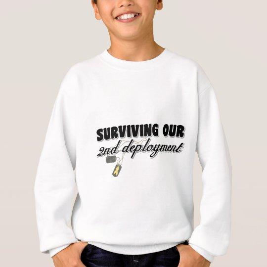 Surviving Our 2nd Deployment Sweatshirt