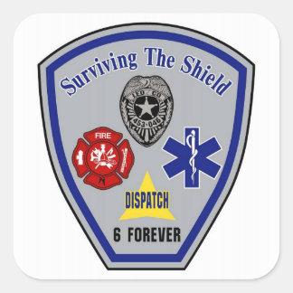 Surviving the Shield sticker