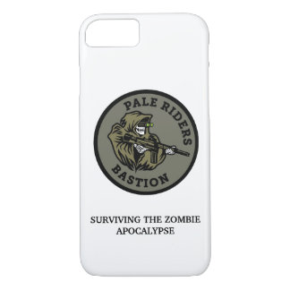 Surviving the Zombie Apocalypse PALE RIDERS Gear iPhone 8/7 Case