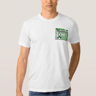 Survivor 10 Liver Cancer Tee Shirts